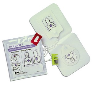 ZOLL pedi-padz II Pediatric Multi-Function Electrodes