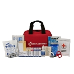25 Person Bulk Fabric First Aid Kit, ANSI Compliant