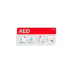 Philips Heartstart AED Awareness Placecard