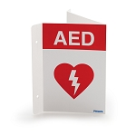 Philips HeartStart AED Wall Sign